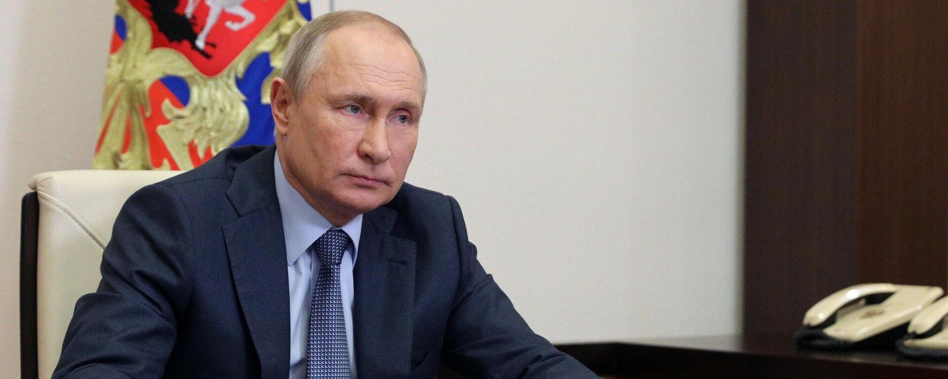 Президент России Владимир Путин - Sputnik Латвия, 1920, 12.07.2021