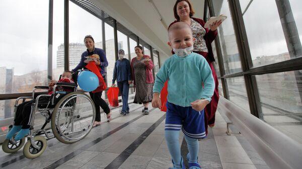НИИ детской онкологии и гематологии РОНЦ имени Н.Н. Блохина - Sputnik Латвия