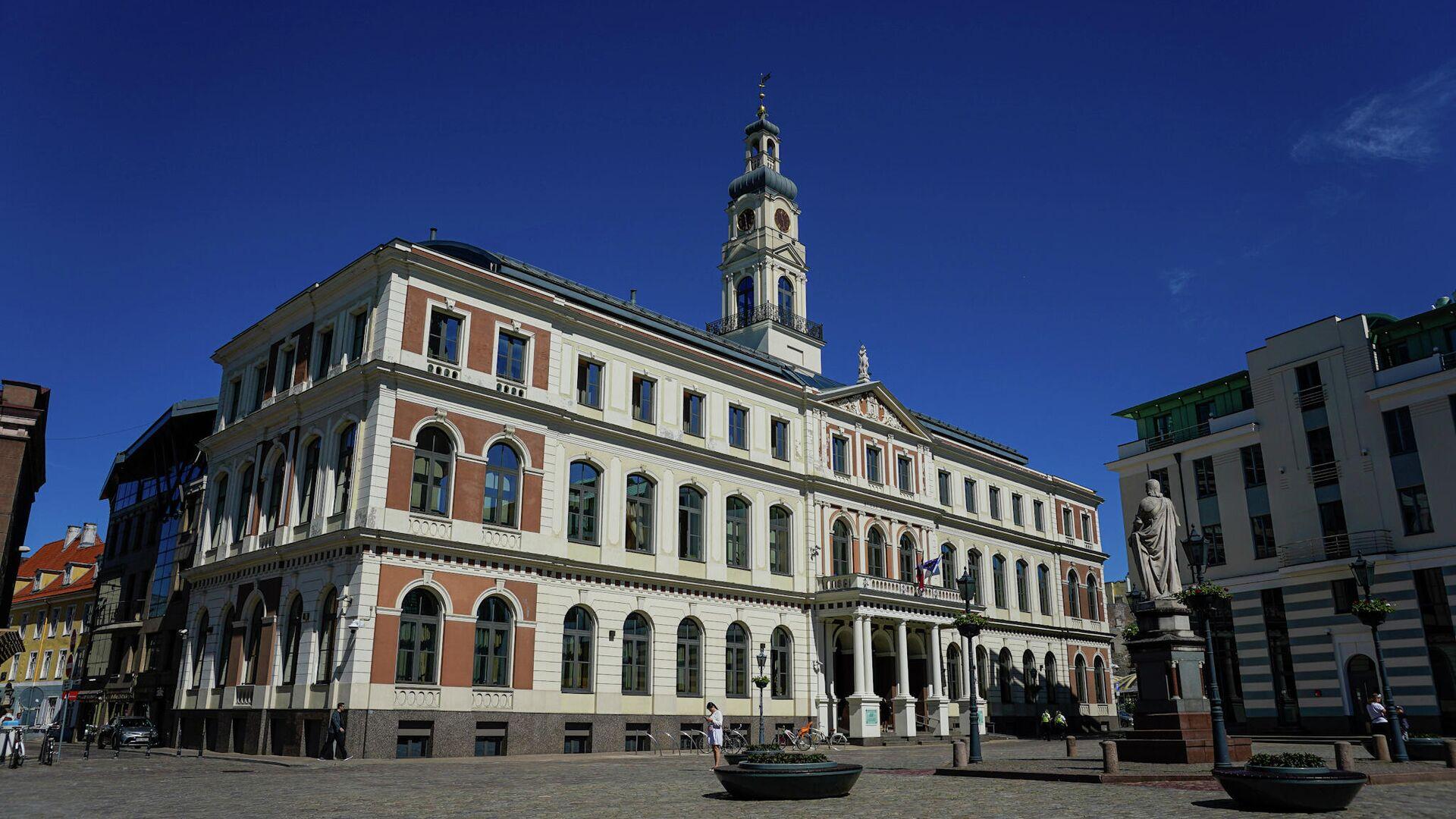 Здание Рижской думы - Sputnik Латвия, 1920, 31.07.2021