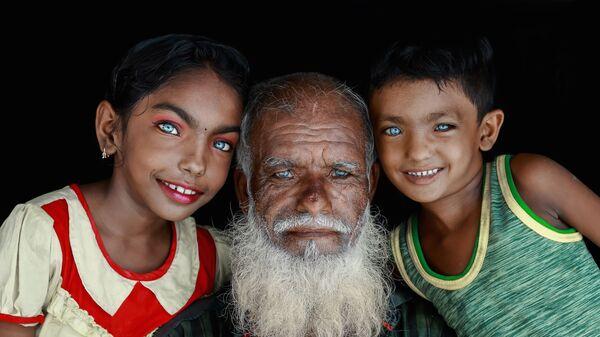 Работа бангладешского фотографа Muhammad Amdad Hossain Прекрасные глаза, вошедшая в шорт-лист конкурса имени Андрея Стенина в категории  Портрет. Герой нашего времени, одиночные фотографии - Sputnik Латвия