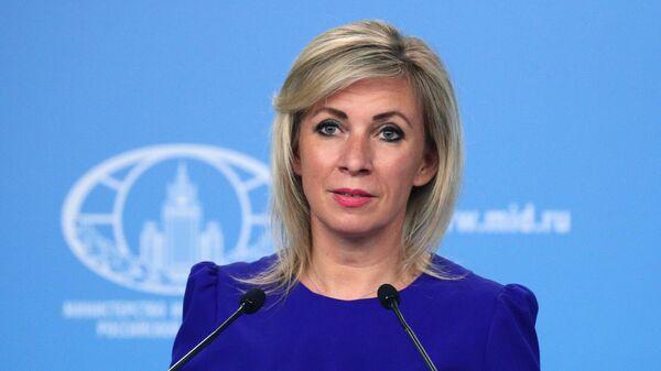 Официальный представитель МИД России Мария Захарова - Sputnik Latvija