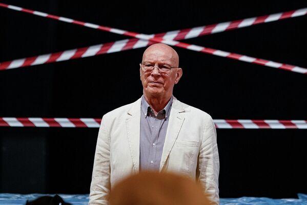 Директор театра Вилнис Бекерис. - Sputnik Латвия