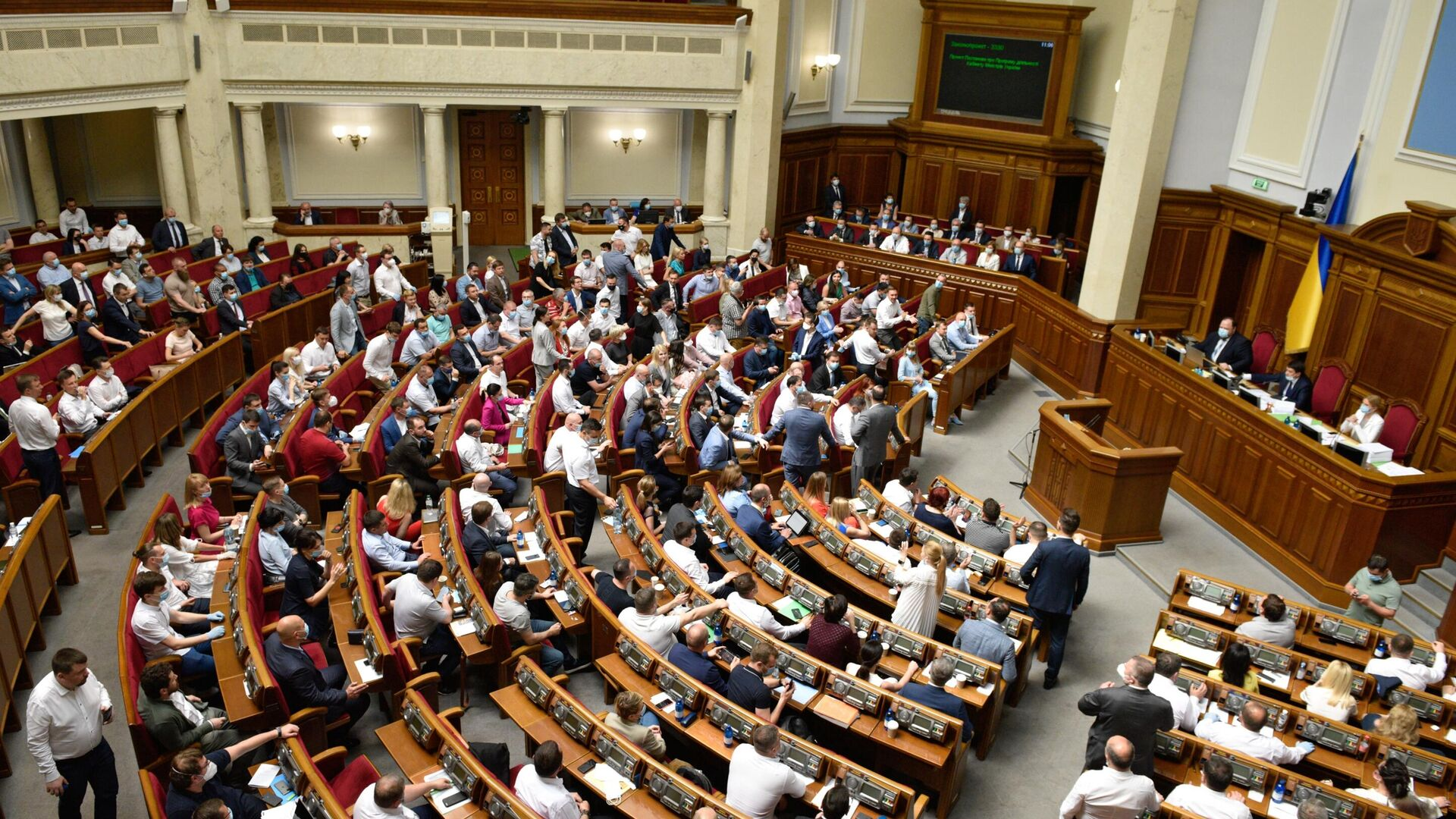 Заседание Верховной рады Украины - Sputnik Latvija, 1920, 01.10.2021