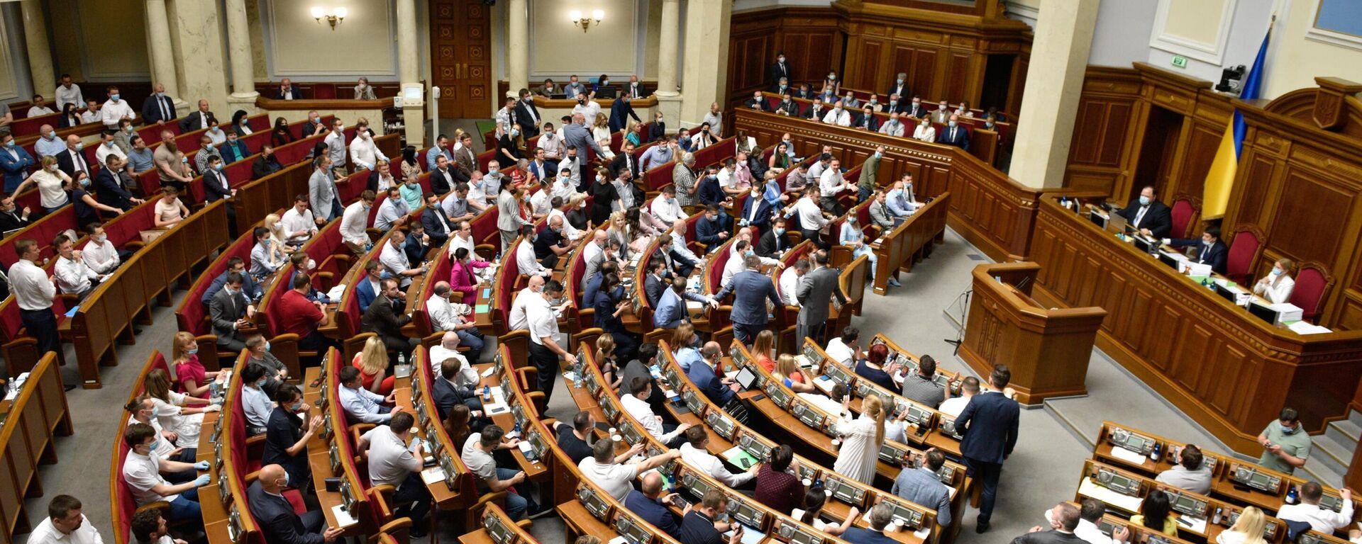 Заседание Верховной рады Украины - Sputnik Латвия, 1920, 29.09.2021