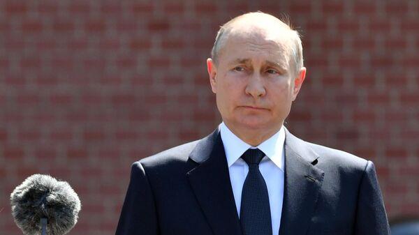 День памяти и скорби: Путин возложил цветы к Могиле Неизвестного Солдата - Sputnik Латвия