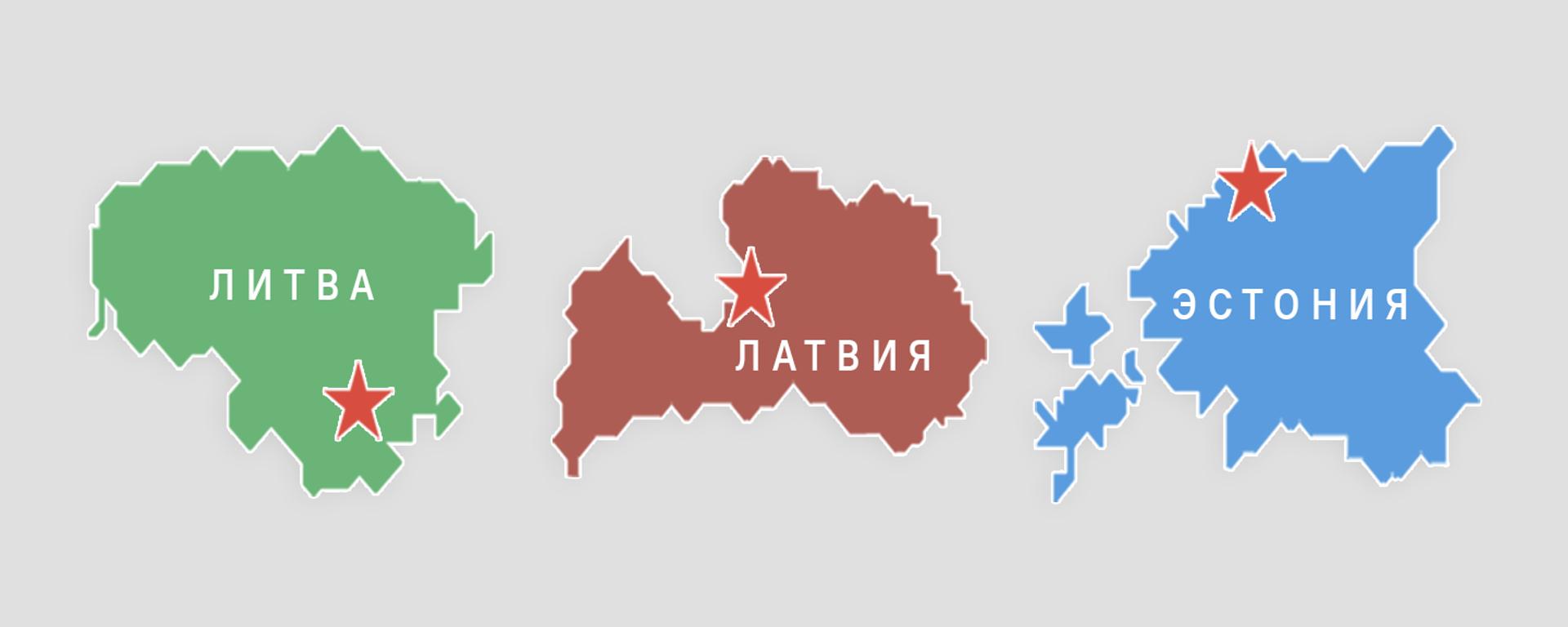 Численность населения стран бывшего СССР - Sputnik Латвия, 1920, 07.08.2021