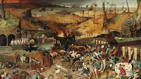 Pīters Brēgels Vecākais Nāves triumfs (apm. 1562.g.)  - Sputnik Latvija
