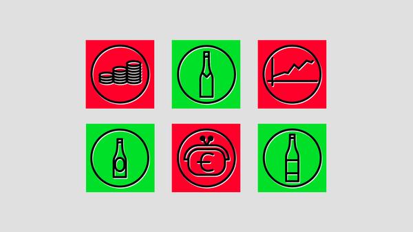 Налог на крепкие напитки в ЕС - Sputnik Латвия