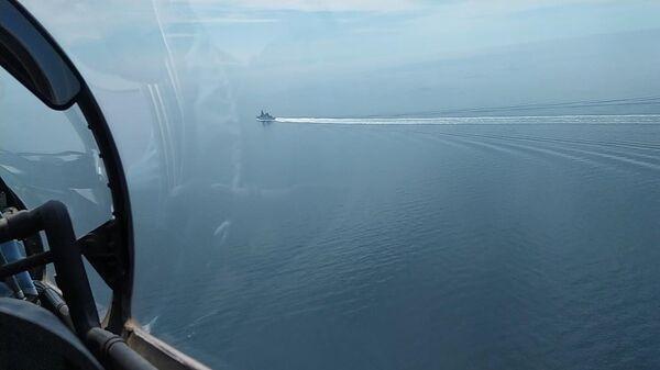 Инцидент с британским эсминцем Defender в Черном море - Sputnik Латвия