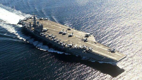 USS Nimitz - Sputnik Latvija