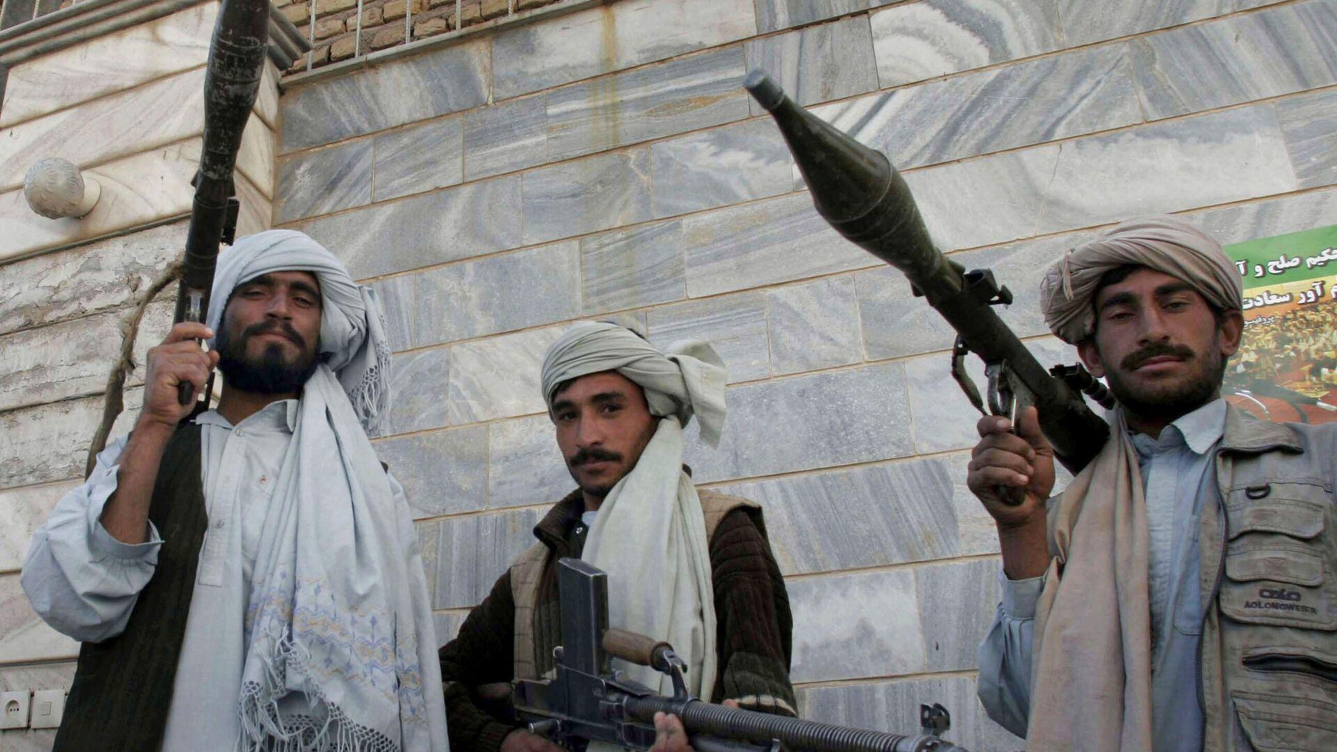 Боевики радикального движения Талибан в Афганистане  - Sputnik Латвия, 1920, 08.07.2021