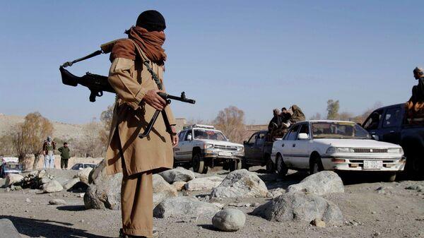 Боевики радикального движения Талибан в Афганистане  - Sputnik Латвия