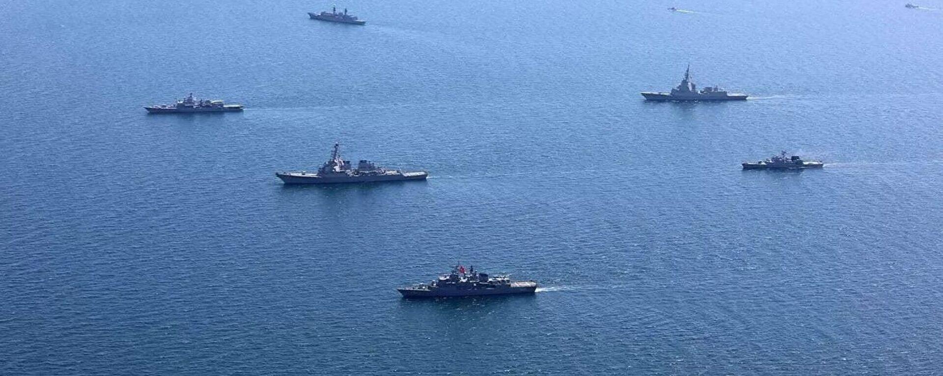 NATO militārās mācības Sea Breeze 2020 Melnajā jūrā  - Sputnik Latvija, 1920, 03.10.2021