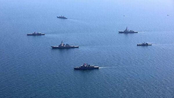 NATO militārās mācības Sea Breeze 2020 Melnajā jūrā  - Sputnik Latvija