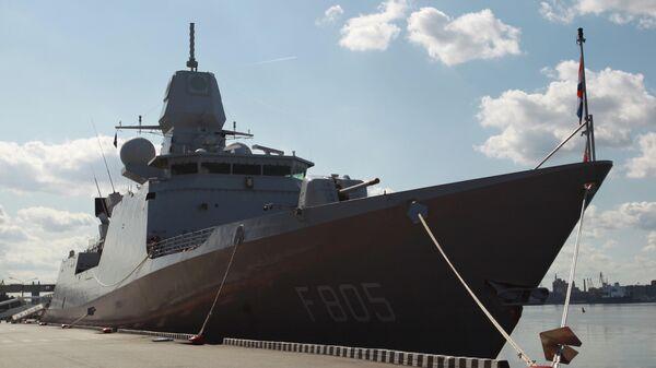 Нидерландский фрегат Evertsen - Sputnik Латвия