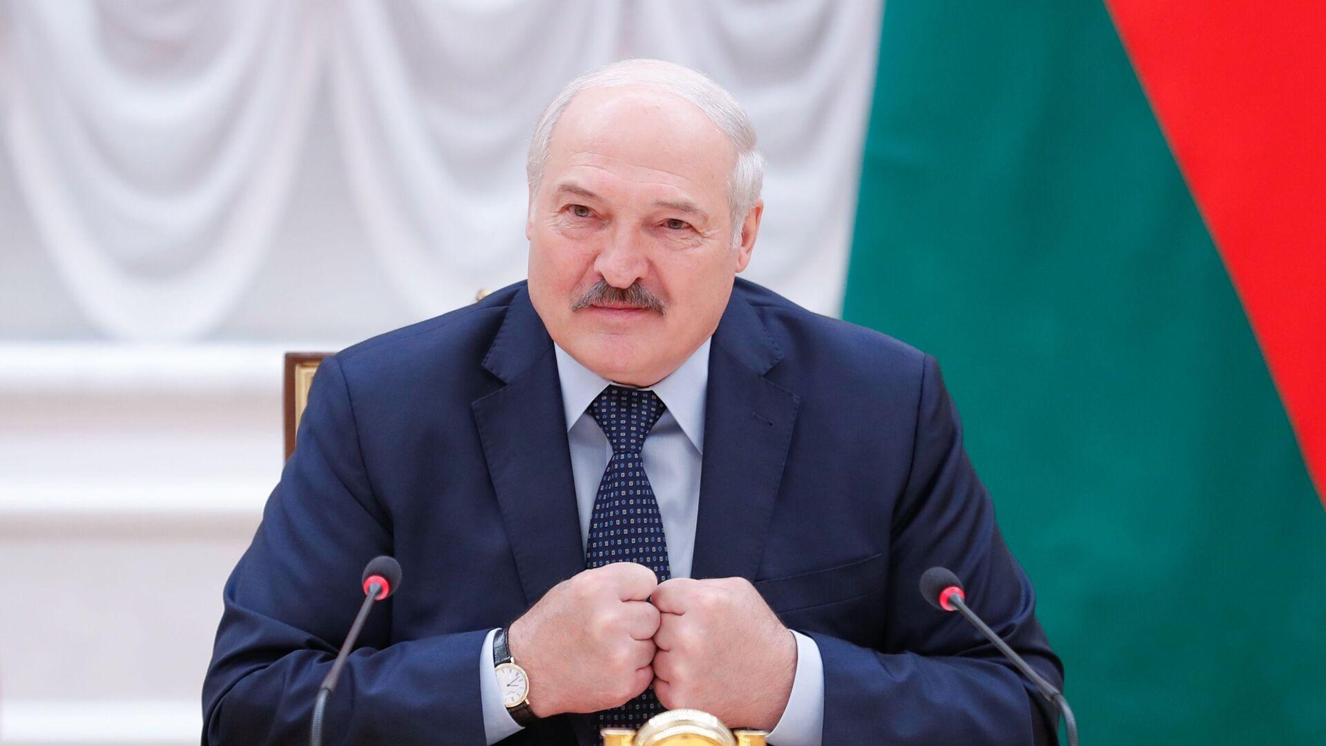 Президент Беларуси Александр Лукашенко - Sputnik Латвия, 1920, 02.07.2021