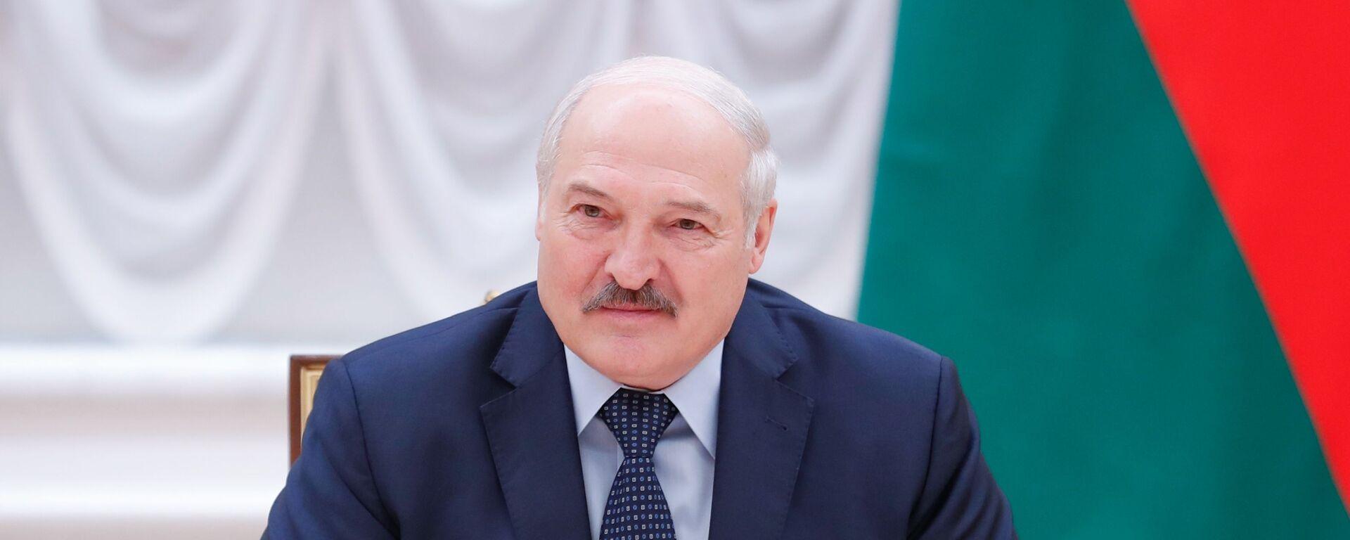 Baltkrievijas prezidents Aleksandrs Lukašenko - Sputnik Latvija, 1920, 22.07.2021