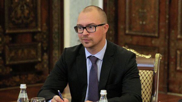 Консул генерального консульства Эстонской Республики в Санкт-Петербурге Март Лятте - Sputnik Latvija