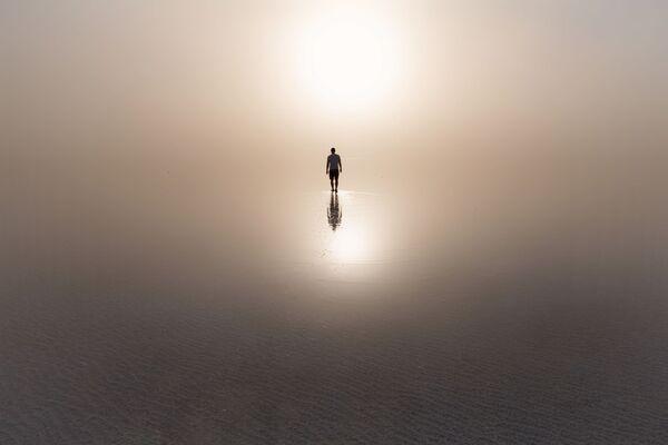 Снимок Пыльная буря Юрия Столыпина, ставший одним из победителей фотоконкурса «Моя Планета. Россия в деталях» - Sputnik Латвия