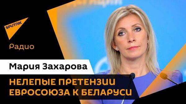 Официальный представитель МИД РФ прокомментировала миграционный скандал, затеянный Литвой - Sputnik Латвия