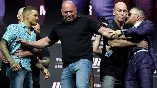 UFC 264: основные моменты предбоевой пресс-конференции - Sputnik Латвия