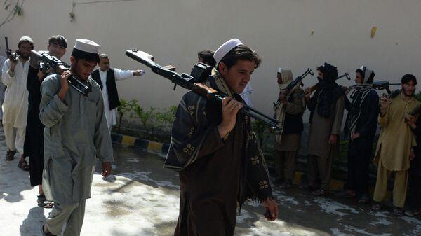 Боевики радикального движения Талибан (запрещено в России)   - Sputnik Latvija