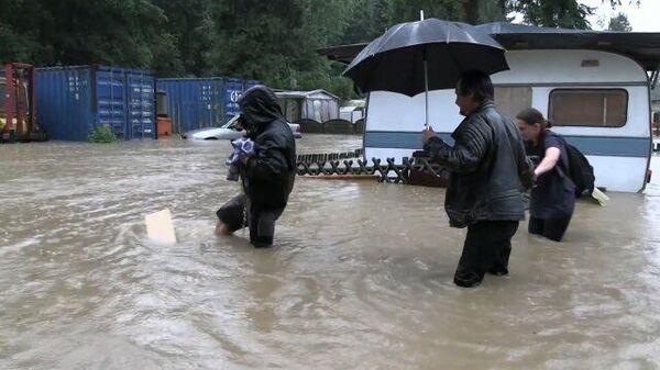 Сильное наводнение в Германии: есть жертвы - Sputnik Латвия