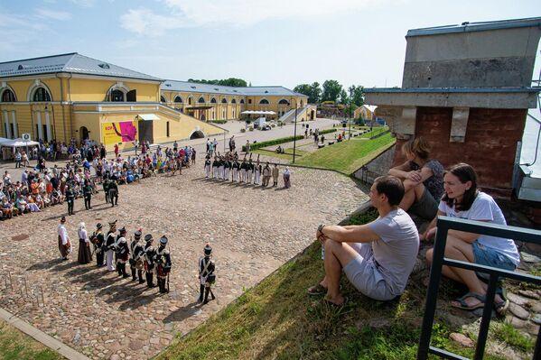 209-я годовщина боевого крещения Динабургской крепости. - Sputnik Латвия