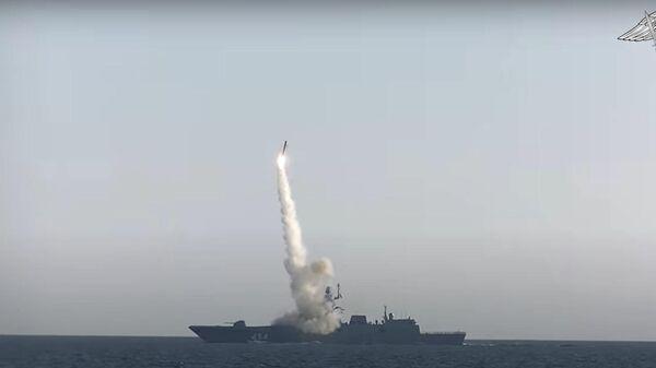 Циркон в действии: РФ показала испытания гиперзвуковой ракеты - Sputnik Латвия