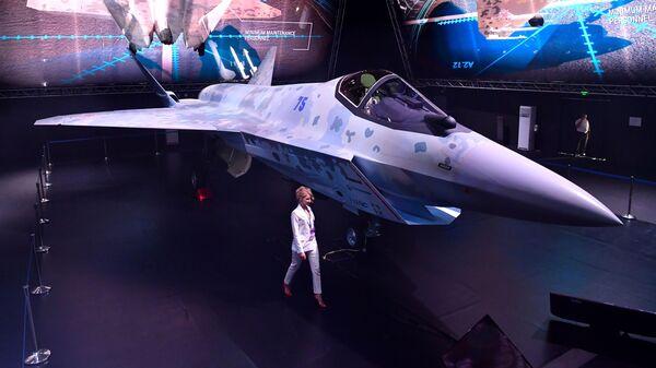 Krievijas jaunā iznīcinātāja Checkmate prezentācija - Sputnik Latvija