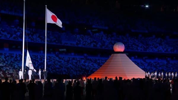Лучшие моменты церемонии открытия летних Олимпийских игр в Токио - Sputnik Latvija
