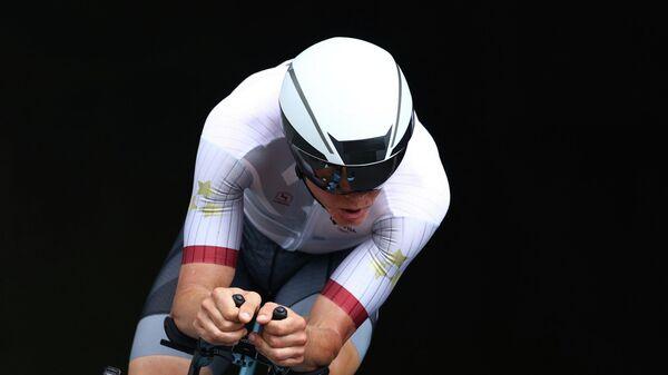 Латвийский велогонщик Томс Скуиньш на Олимпиаде в Токио - Sputnik Латвия
