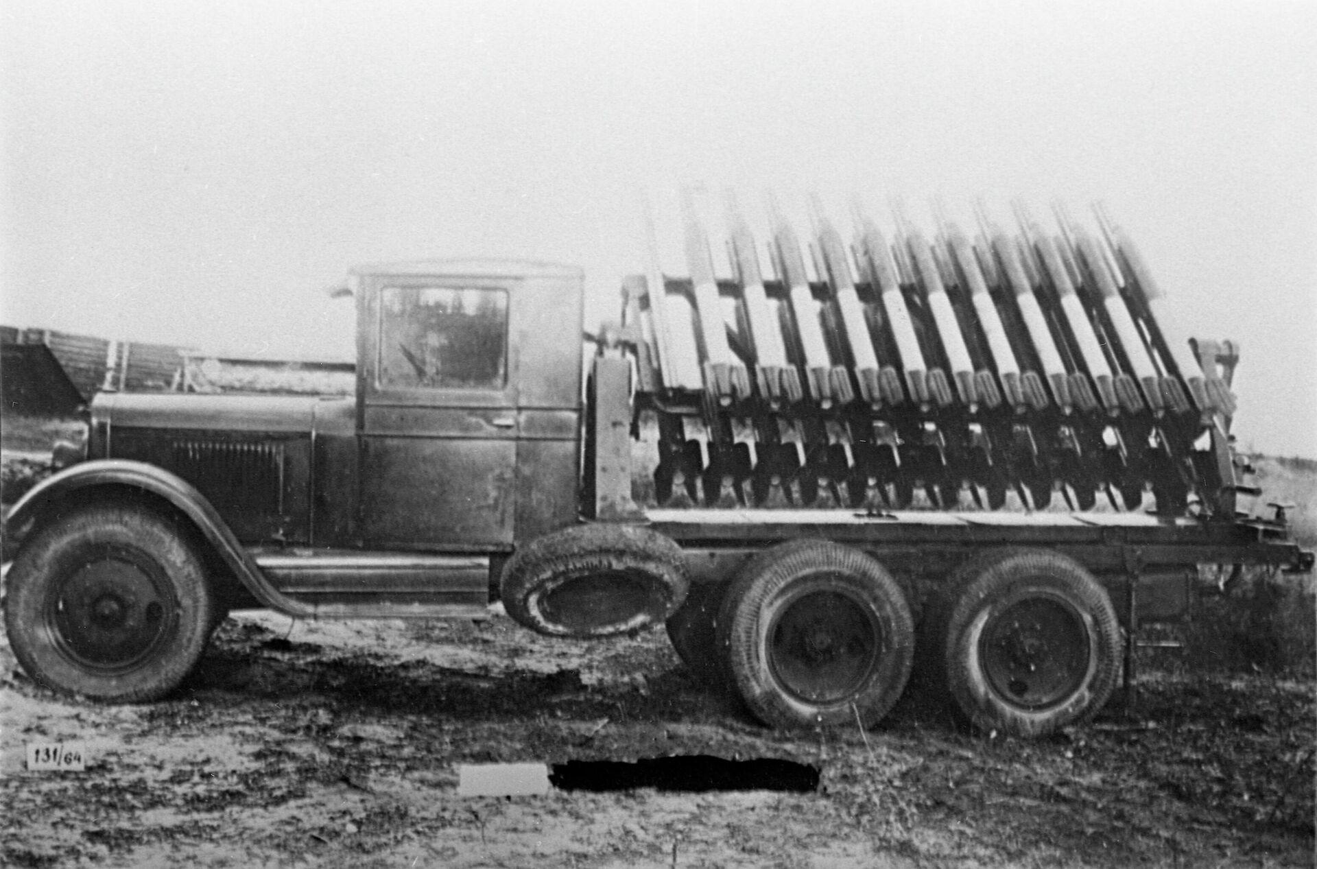 Боевая реактивная установка Катюша - Sputnik Latvija, 1920, 03.08.2021