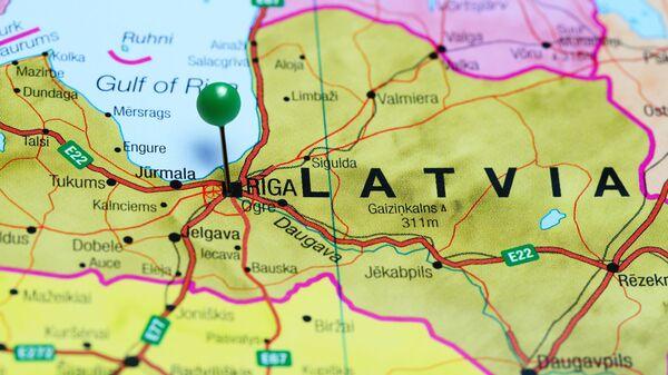Часть карты Латвии - Sputnik Латвия