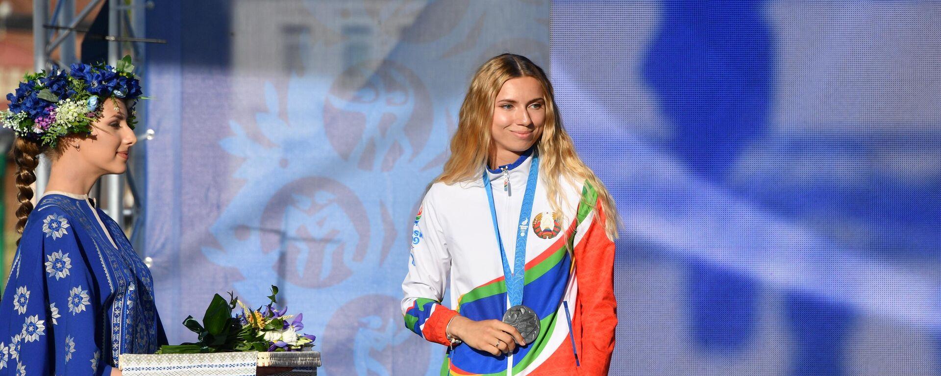 Кристина Тимановская на Европейских играх - Sputnik Латвия, 1920, 02.08.2021
