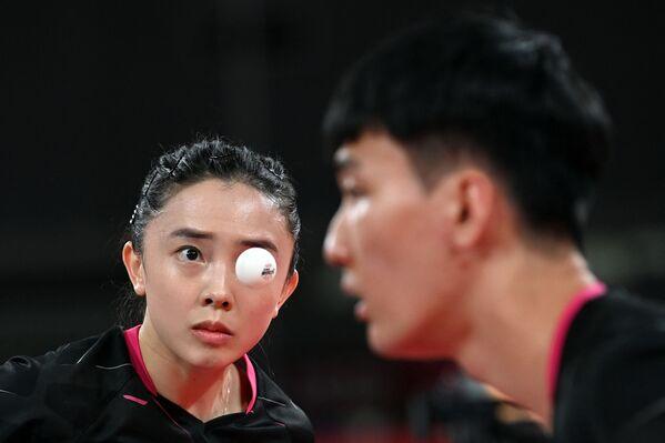 Saspringta galda tenisa spēle – Dienvidkoreja pret Taivānu - Sputnik Latvija