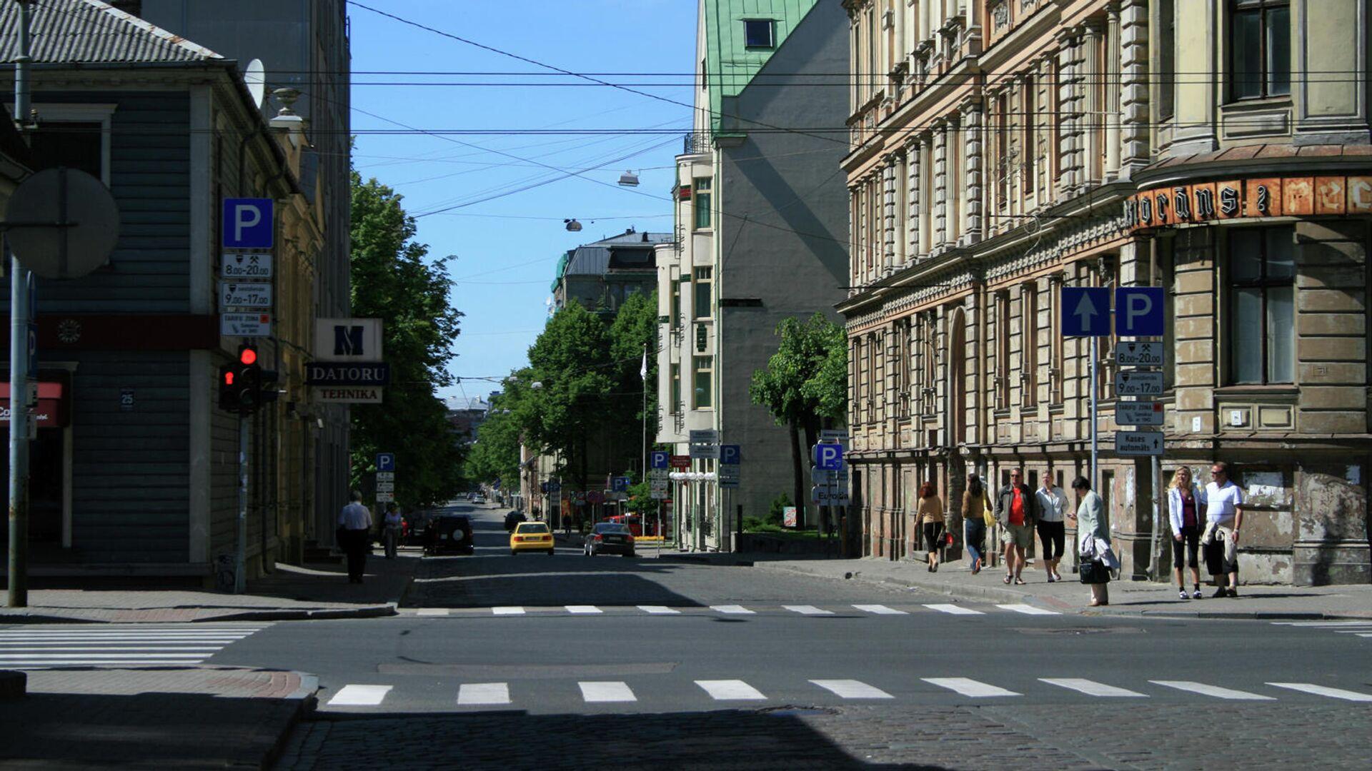 Пешеходный переход в Риге - Sputnik Латвия, 1920, 05.07.2021