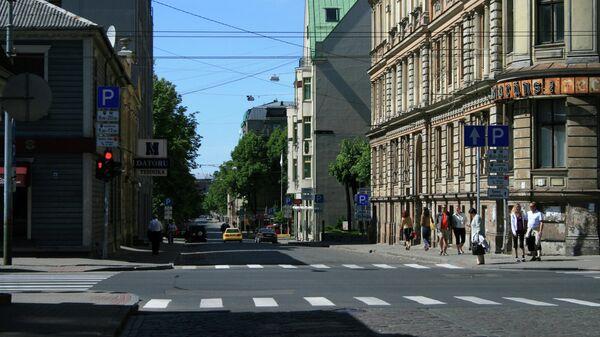 Пешеходный переход в Риге - Sputnik Латвия