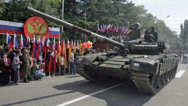 Militārā parāde Chinvalā - Sputnik Latvija