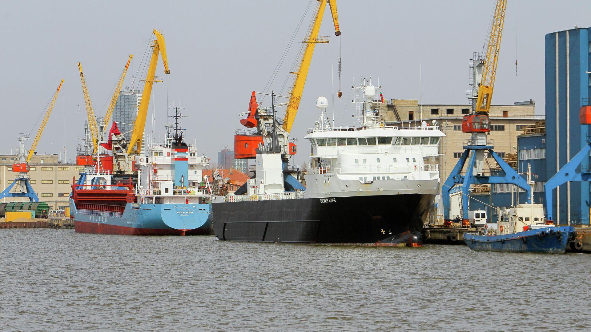 Клайпедский морской порт - Sputnik Латвия, 1920, 09.08.2021
