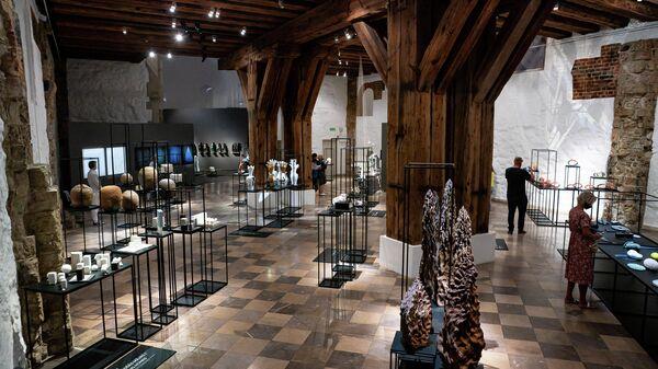 На выставке собраны работы 19 лучших керамистов Балтии - Sputnik Latvija