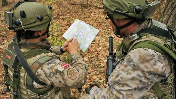 NATO militārās mācības - Sputnik Latvija