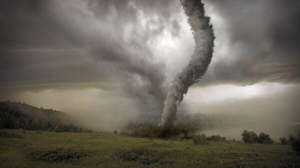 Торнадо на лугу - Sputnik Латвия