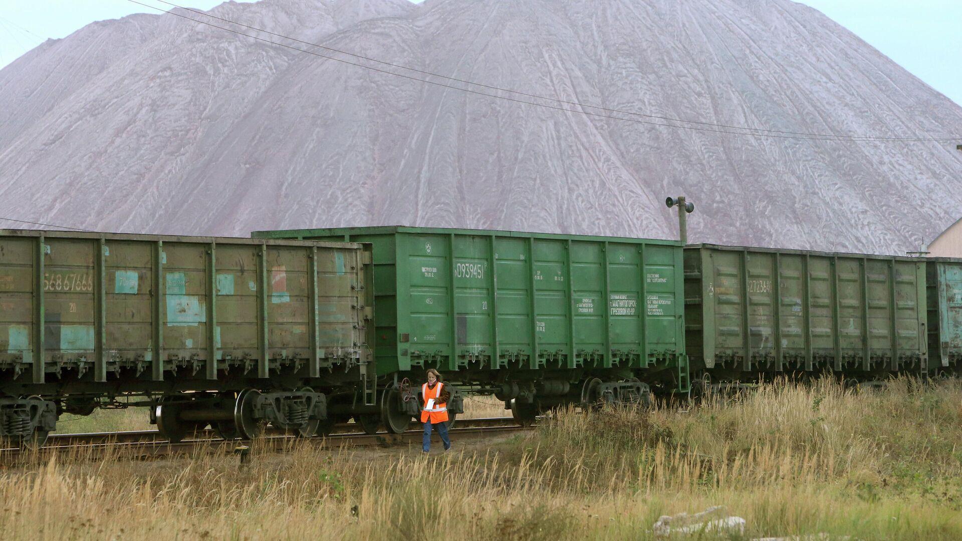 Беларуськалий остановил работу половины рудников - Sputnik Латвия, 1920, 13.08.2021