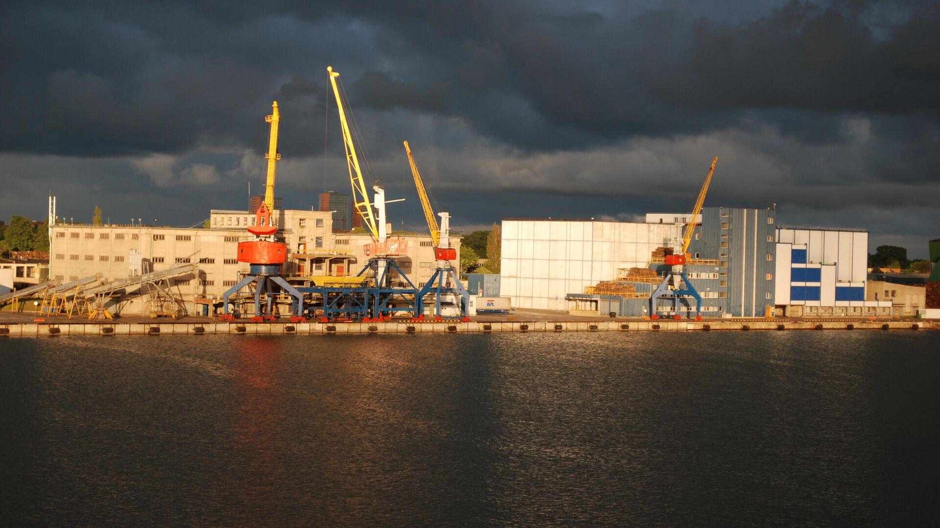 Клайпедский морской порт - Sputnik Латвия, 1920, 15.08.2021