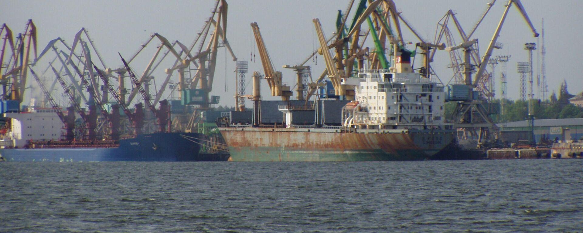 Клайпедский морской порт - Sputnik Латвия, 1920, 13.08.2021