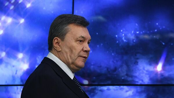Пресс-конференция Виктора Януковича - Sputnik Latvija