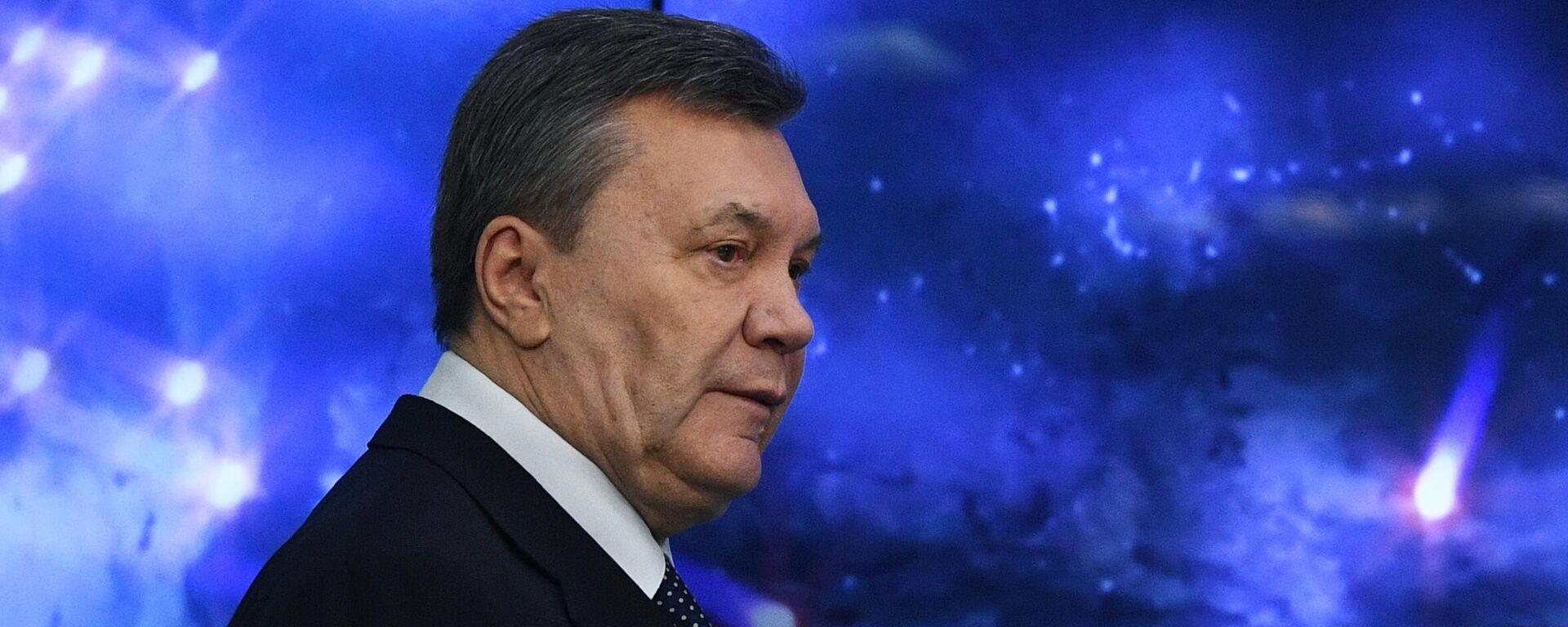 Пресс-конференция Виктора Януковича - Sputnik Латвия, 1920, 17.08.2021