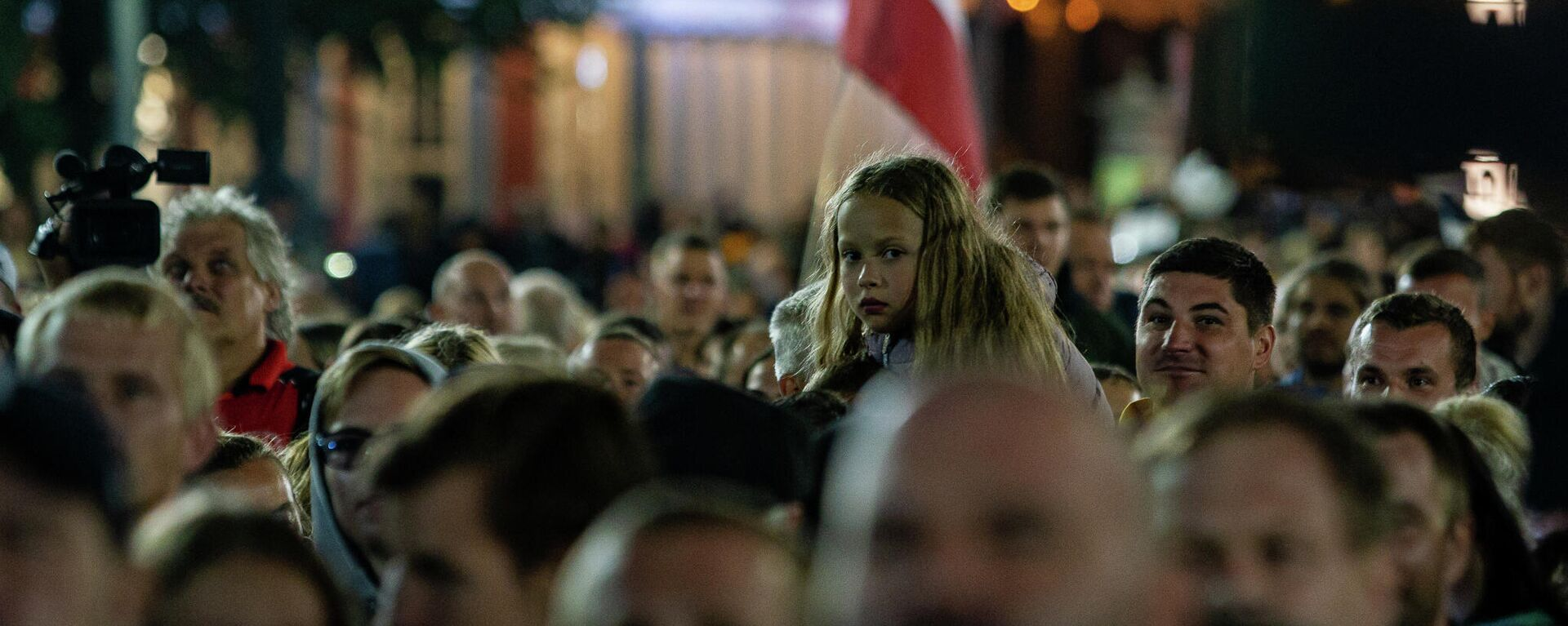 Акция протеста против обязательной вакцинации в Риге, 18 августа - Sputnik Латвия, 1920, 15.09.2021