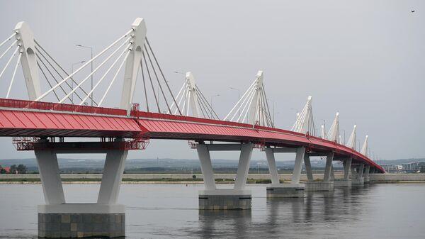 Автомобильный мост через Амур между Благовещенском и Хэйхэ - Sputnik Латвия